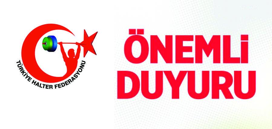 Büyükler Ferdi Türkiye Halter Şampiyonası