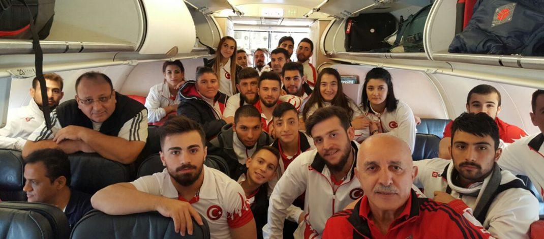 Genç Millilerimiz Avrupa Şampiyonası İçin İsrail'e Gitti.