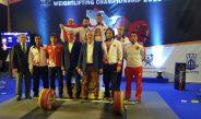 23 Yaş Altı ve Gençler Avrupa Halter Şampiyonası'nın İlk gününde  6 madalya