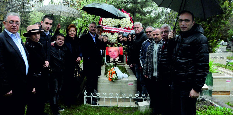 Eski Federasyon Başkanlarımızdan Arif Nusret Say, Mezarı Başında Anıldı.