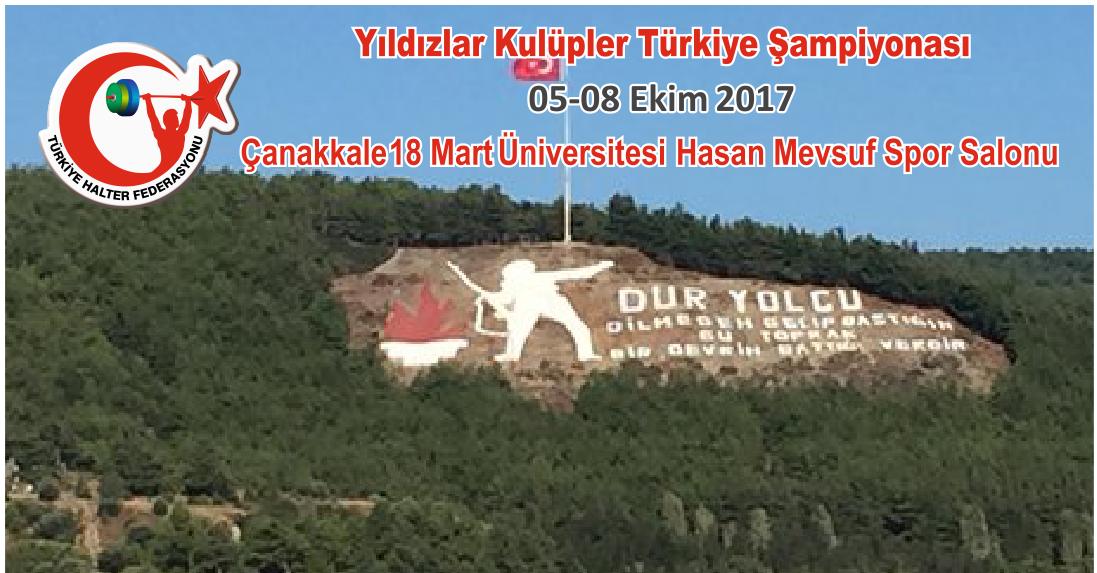 Yıldızlar Kulüpler Türkiye Şampiyonası Çanakkale