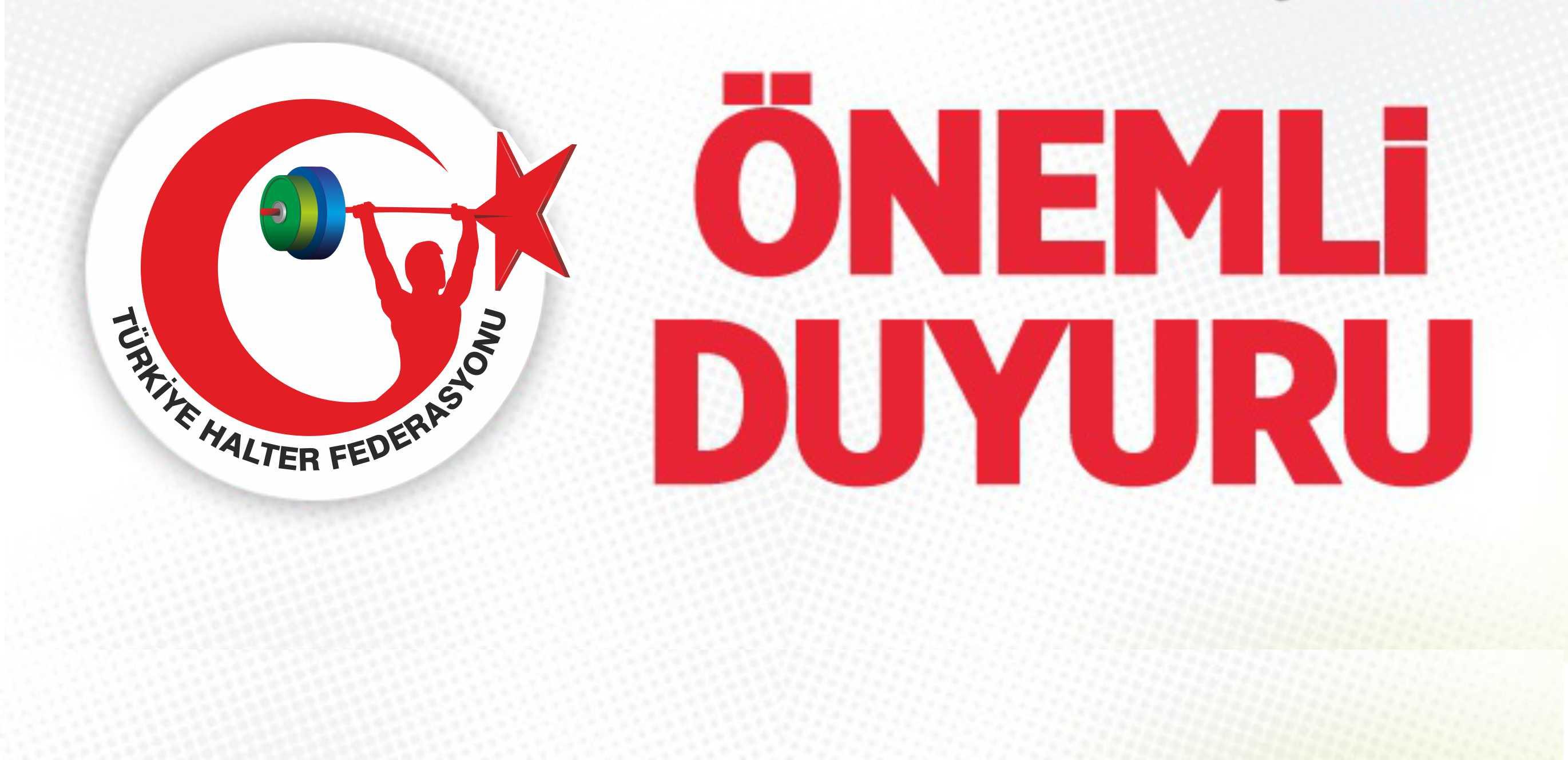 DOPİNG HAVUZUNA KAYITLI SPORCULARIN DİKKATİNE !!!