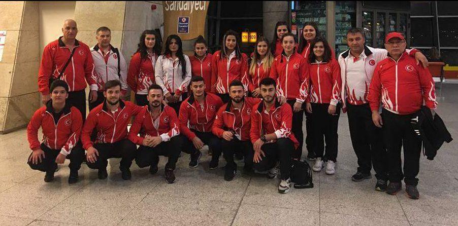 Gençler ve 23 Yaş Altı Avrupa Halter Şampiyonasına katılacak milli takımımız Arnavutluk'a gitti.