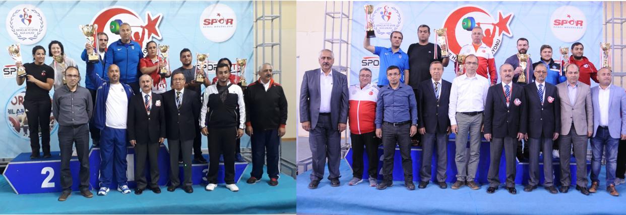 Büyükler  Kulüpler Türkiye Şampiyonasında Erkekler Kategorisi Şampiyonu Ankara Aski Spor Kulübü, Bayanlar Kategorisi Şampiyonu Ankara Büyükşehir Belediyesi oldu.
