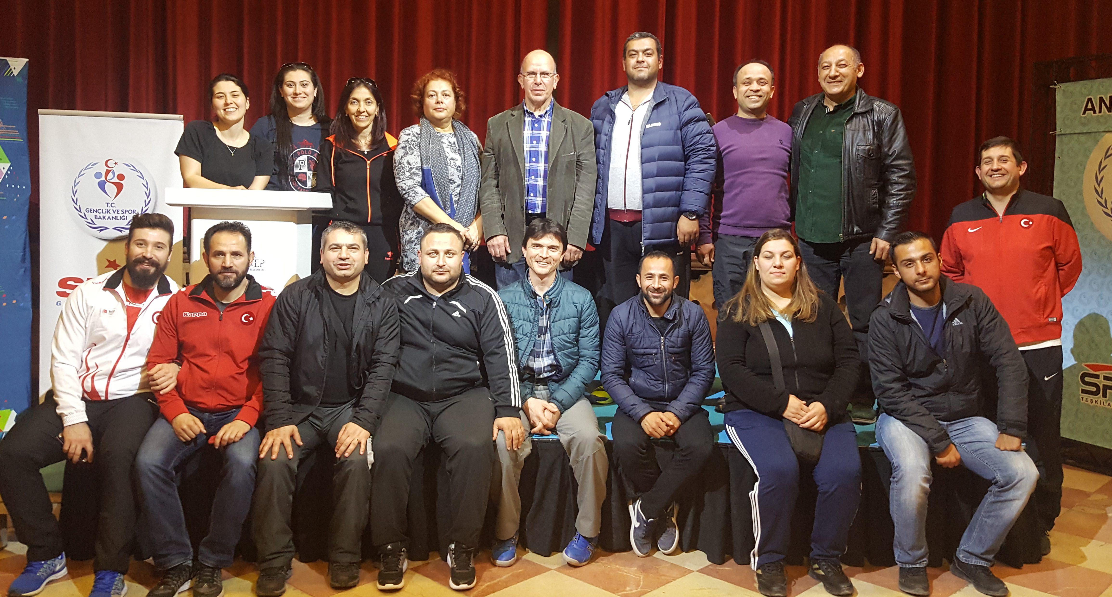 Naim Süleymanoğlu Büyükler Kulüpler Türkiye Halter Şampiyonası Gaziantep'te Başladı.
