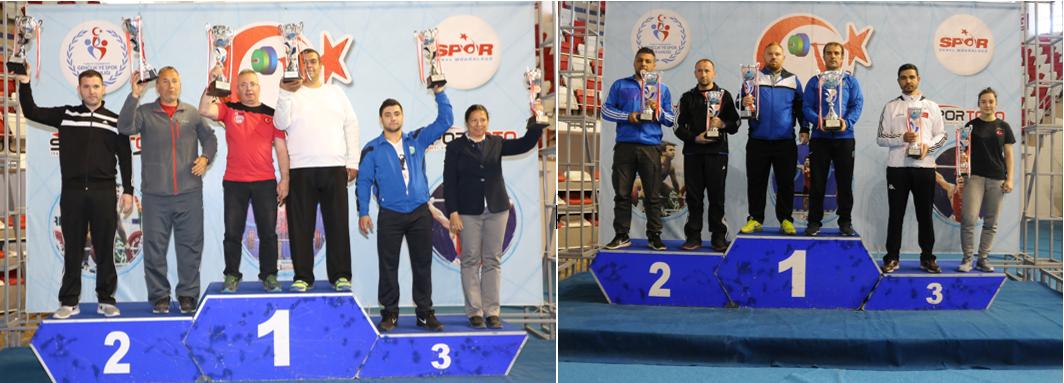 Erkekler Kategorisinde Ankara Aski Spor Kulübü , Bayanlar Kategorisi Şampiyonu Ankara Büyükşehir Belediyesi Şampiyon oldu.