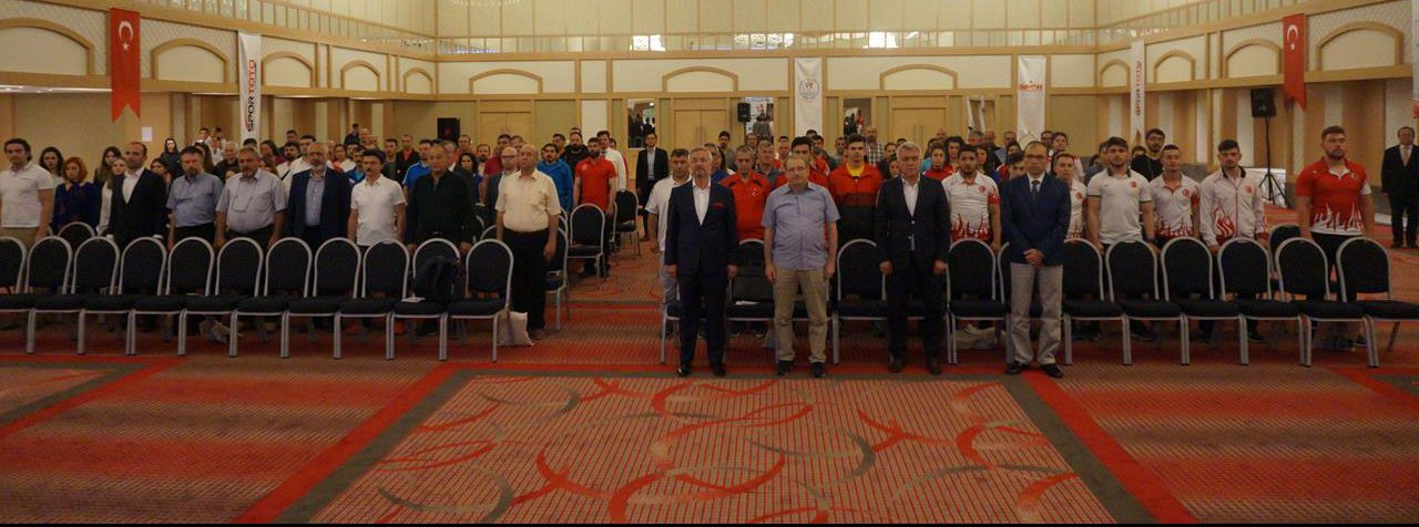 Türkiye Halter Federasyonu ve Türkiye Dopingle Mücadele Komisyonu İş birliği ile Dopingle Mücadele Eğitim Semineri gerçekleştirildi.