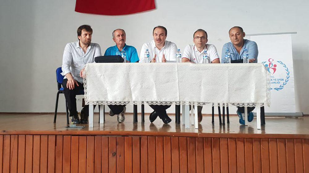 Gençler ve 23 Yaş Altı  Ferdi Türkiye Halter Şampiyonası Ordu Başpehlivan Recep Kara  Spor Salonunda başladı.