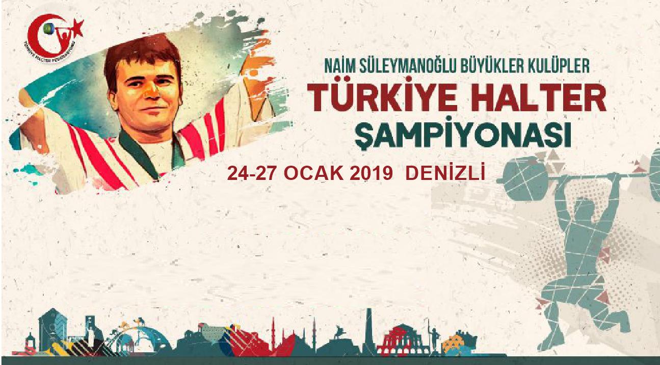 Naim Süleymanoğlu Büyükler Kulüpler Türkiye Halter Şampiyonası