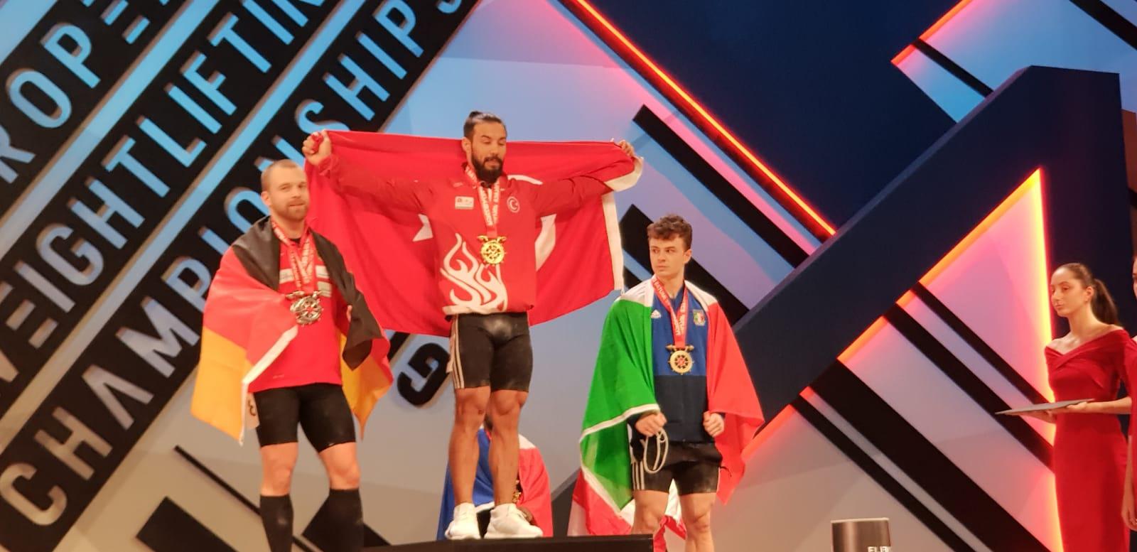 Daniyar İsmayilov Koparmada Büyükler Avrupa Şampiyonu