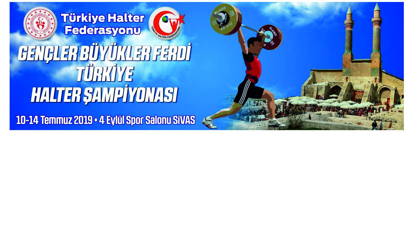 Gençler ve Büyükler  Ferdi Türkiye Şampiyonası