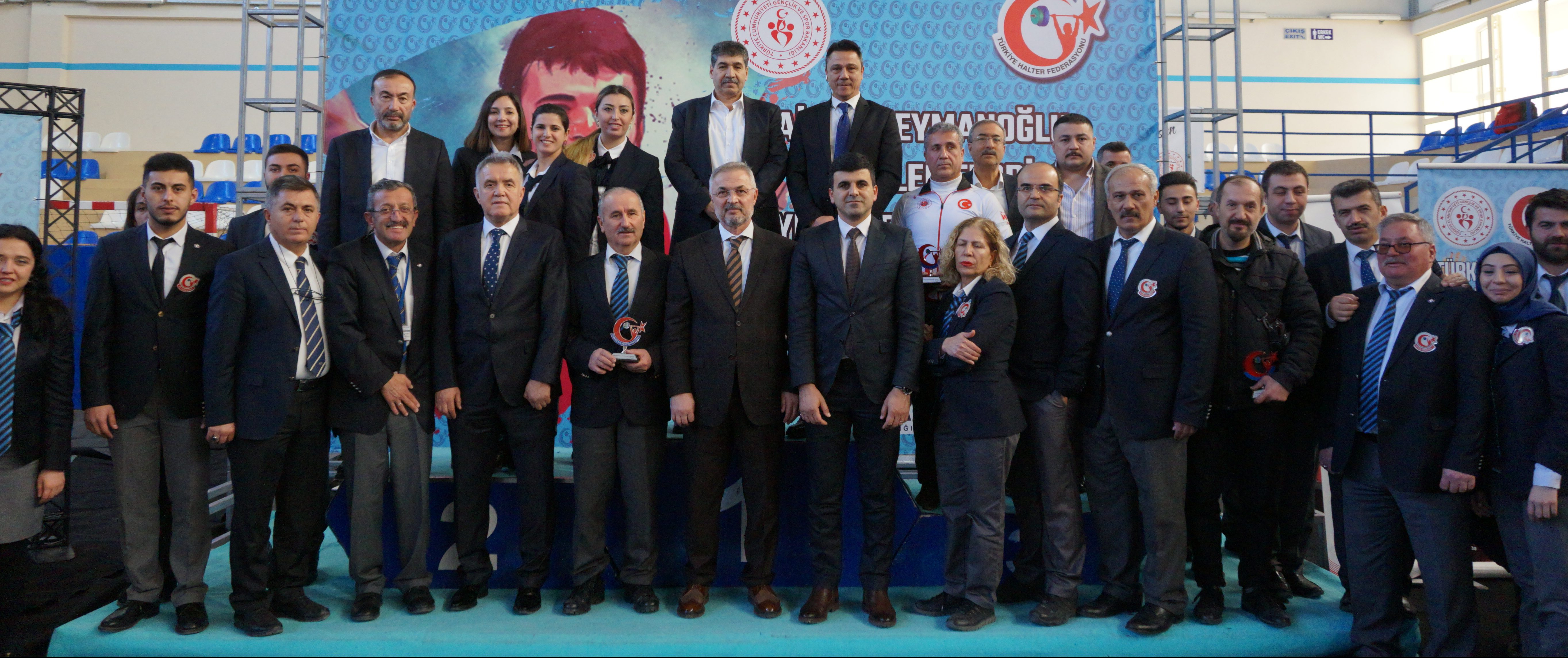 Naim Süleymanoğlu Büyükler Ferdi Türkiye Halter Şampiyonası'nın Açılış Seremonisi Gerçekleştirildi