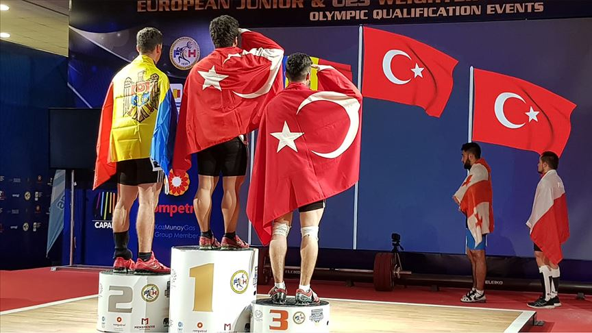 Milli halterciler 2019 yılında 225 madalya kazandı