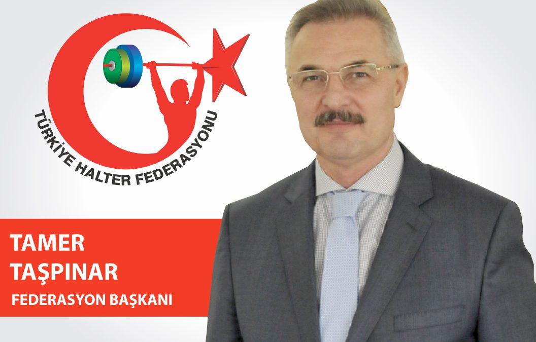 Türkiye Halter Federasyonu Başkanı. Tamer TAŞPINAR'ın  Bayram Mesajı