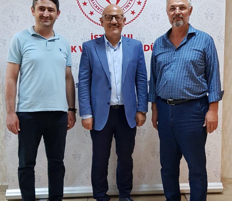 Gençlik ve Spor il Müdürü Prof. Dr. Burhanettin Hacıcaferoğlu'na ziyaret