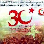 #30Agustos zafer bayramı kutlu olsun