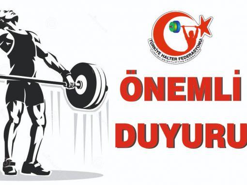Minikler Türkiye Şampiyonası katılımın az olmasından dolayı ileri bir tarihe ertelenmiştir.