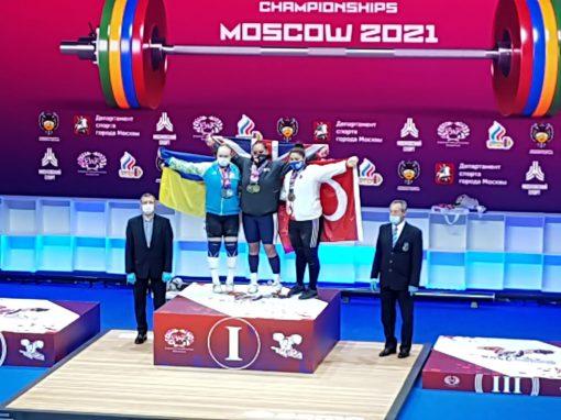 Avrupa Halter Şampiyonası'nda Melike Günal'dan 3 madalya