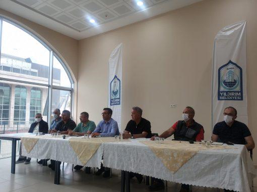 U15 ve Yıldızlar Halter Türkiye Şampiyonası Yıldırım Belediyesi Naim Süleymanoğlu Spor Kompleksi Spor Salonunda başladı