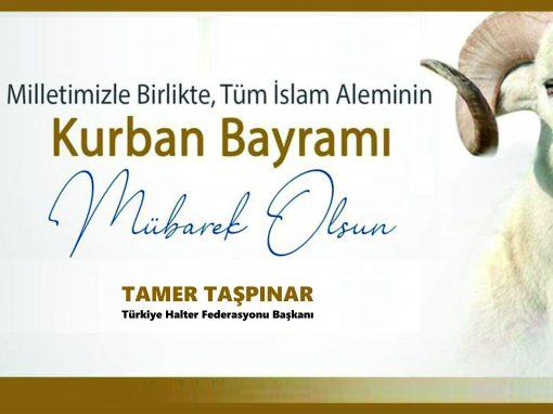Tüm islam aleminin ve camiamızın mübarek KURBAN bayramını kutlar, bayramın SAĞLIK,huzur, barış, kardeşlik, saygı ve